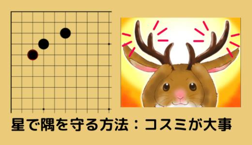 【囲碁の星の基礎】星で隅を守る方法