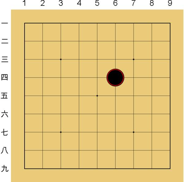 囲碁のルール1:交点に打つ