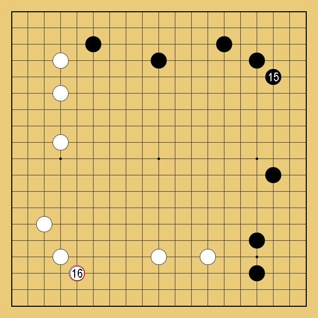 囲碁の中国流解説画像