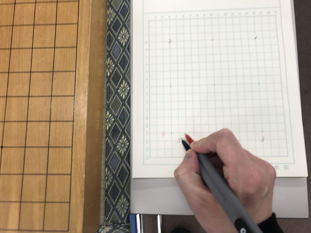 棋譜の書き方