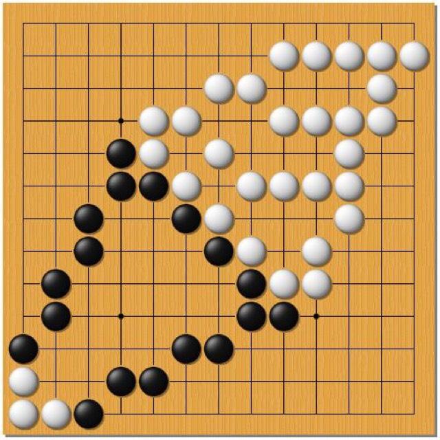 囲碁アート「ソフトクリーム」