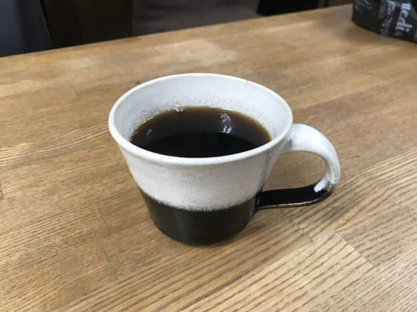 横浜囲碁サロンのホットコーヒー