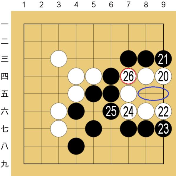 囲碁コンピューター(COSUMI)の無理手対策